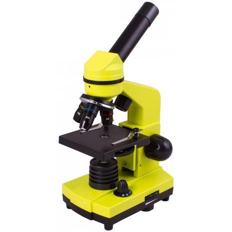Микроскоп Levenhuk Rainbow 2L Lime\Лайм