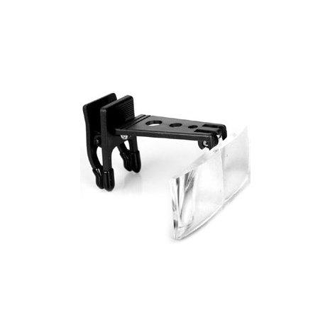 Лупа налобная 1.5x/2.5x/3.5x (насадка на очки) Kromatech MG19156-2