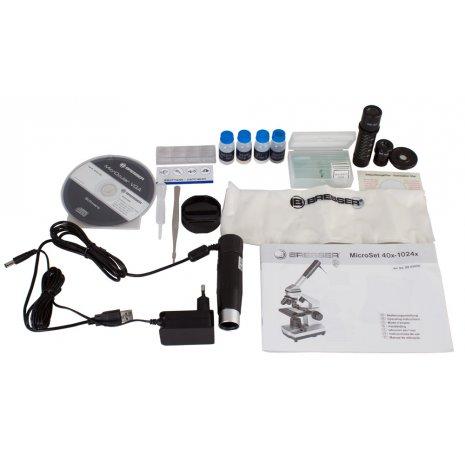 Микроскоп цифровой Bresser Junior 40x–1024x, в кейсе