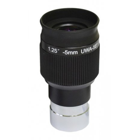 """Окуляр Levenhuk UWA 58° 5 мм, 1,25"""""""