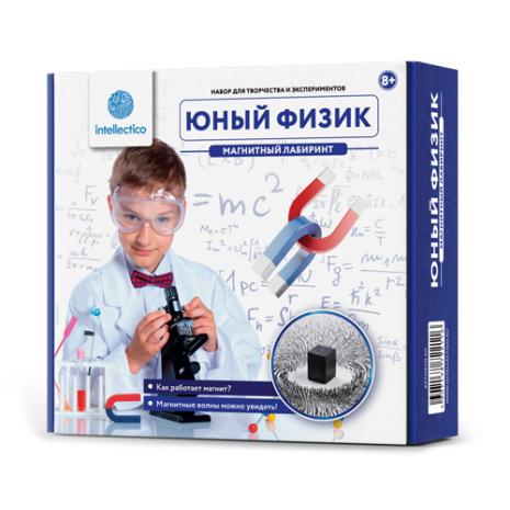 Набор для опытов INTELLECTICO 211 Научные наборы:Юный физик;Юный физик.Магнитный лабиринт