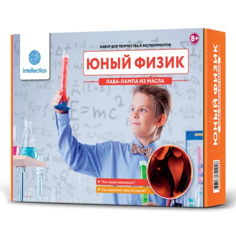 Набор для опытов INTELLECTICO 204 Научные наборы:Юный физик;Юный физик.Лава-лампа из масла