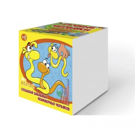 Набор для опытов GOOD FUN GF002Y Цветные полимерные червяки Желтый